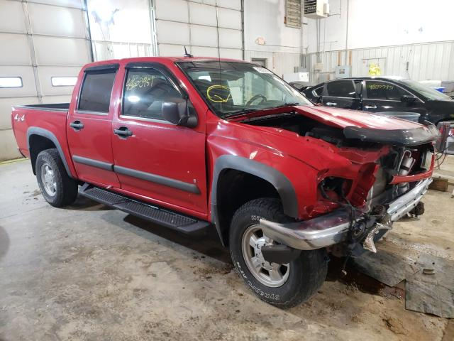 Salvage cars for sale from Copart Columbia, MO: 2008 Chevrolet Colorado