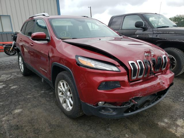 Salvage cars for sale from Copart Chambersburg, PA: 2016 Jeep Cherokee L