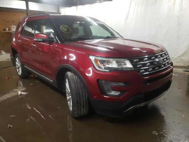 Salvage cars for sale from Copart Ebensburg, PA: 2017 Ford Explorer L