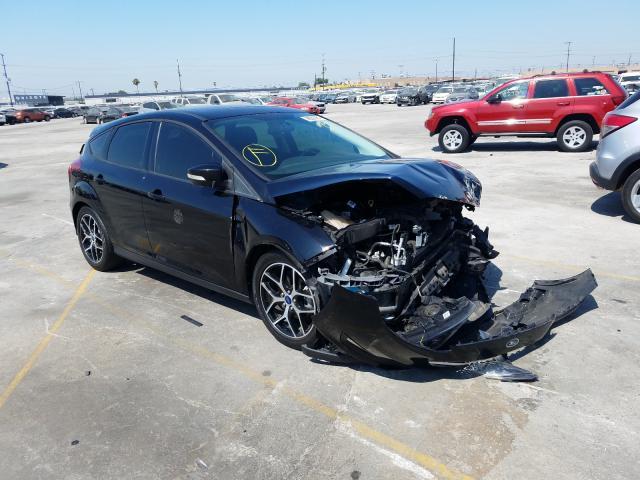 Vehiculos salvage en venta de Copart Sun Valley, CA: 2018 Ford Focus SEL