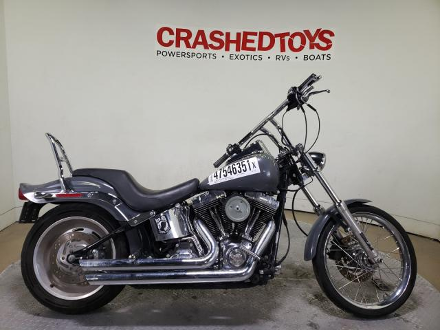 Salvage cars for sale from Copart Dallas, TX: 2007 Harley-Davidson Fxst Custo