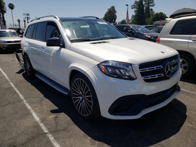 Vehiculos salvage en venta de Copart Van Nuys, CA: 2018 Mercedes-Benz GLS 63 AMG