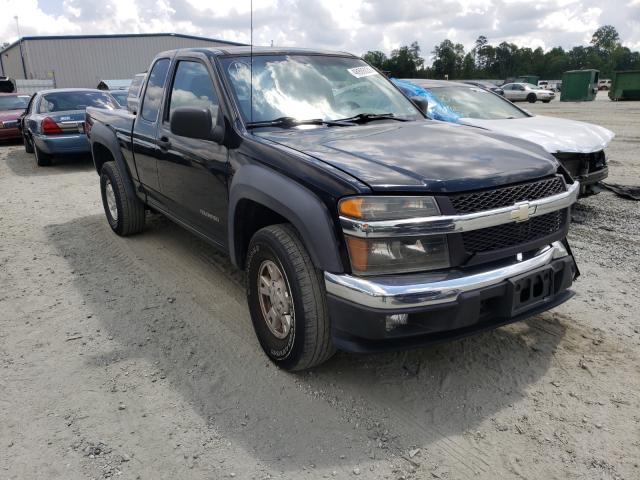 Salvage cars for sale from Copart Spartanburg, SC: 2005 Chevrolet Colorado