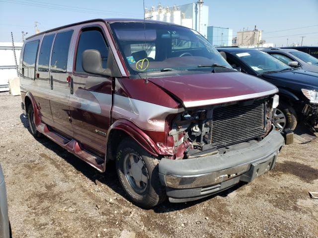Salvage trucks for sale at Chicago Heights, IL auction: 1997 Chevrolet Express G1