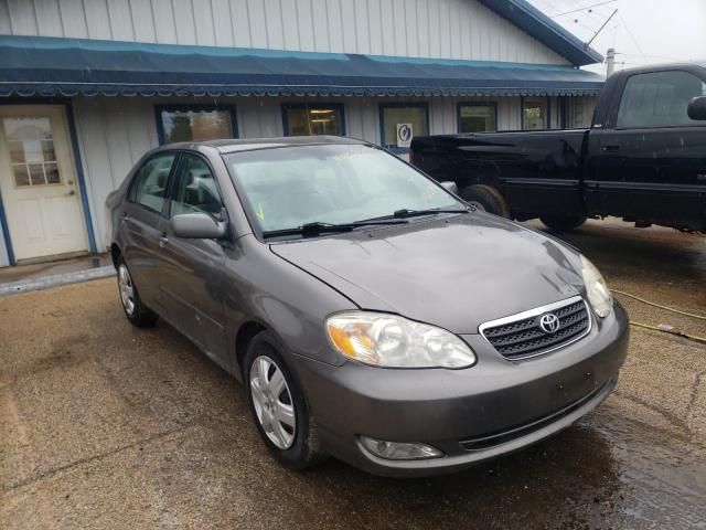 Salvage cars for sale from Copart Pekin, IL: 2008 Toyota Corolla CE