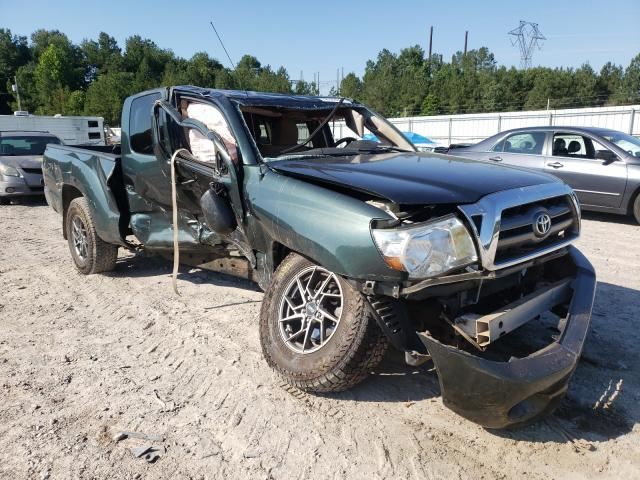 Salvage cars for sale from Copart Charles City, VA: 2010 Toyota Tacoma ACC