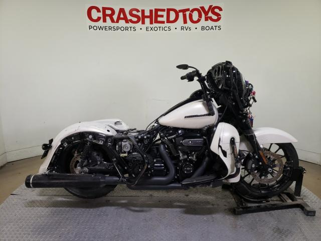 Salvage motorcycles for sale at Dallas, TX auction: 2018 Harley-Davidson Flhxs Street
