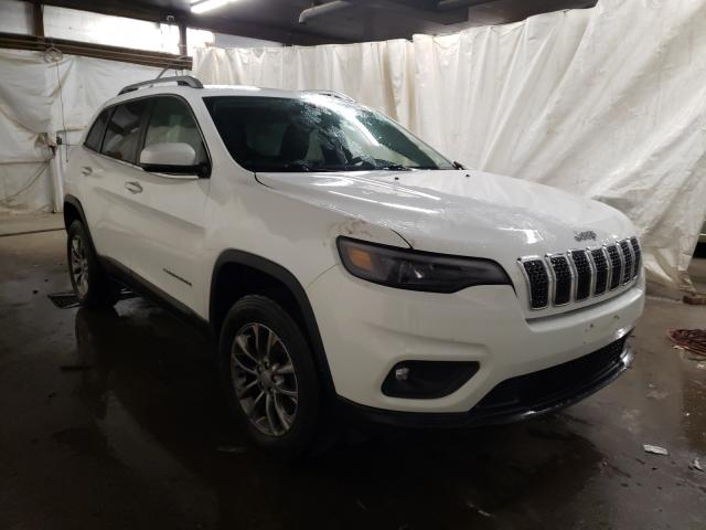 Salvage cars for sale from Copart Ebensburg, PA: 2019 Jeep Cherokee L