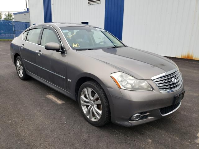 Salvage cars for sale from Copart Moncton, NB: 2008 Infiniti M35 Base