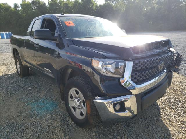 Salvage cars for sale from Copart Concord, NC: 2019 Toyota Tundra DOU