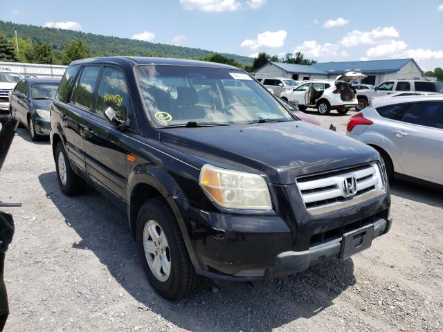 Salvage cars for sale from Copart Grantville, PA: 2006 Honda Pilot LX