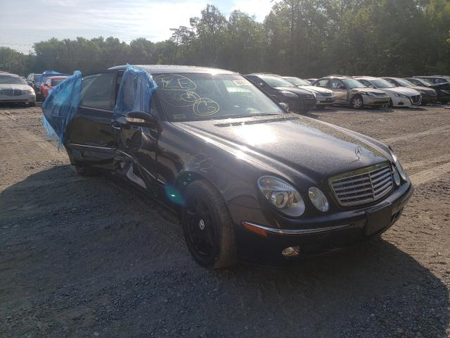 Salvage cars for sale from Copart Waldorf, MD: 2004 Mercedes-Benz E 320 4matic