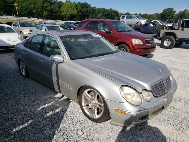 Salvage cars for sale from Copart Gastonia, NC: 2003 Mercedes-Benz E 500