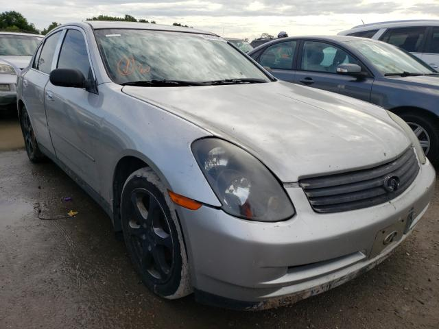 Salvage cars for sale from Copart Riverview, FL: 2004 Infiniti G35