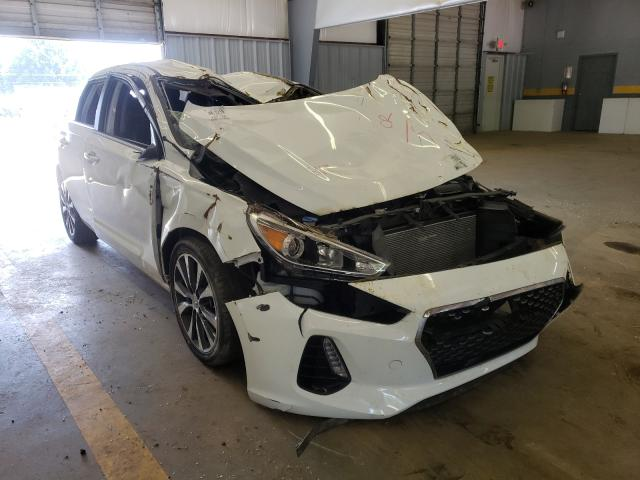 Salvage cars for sale from Copart Mocksville, NC: 2019 Hyundai Elantra GT