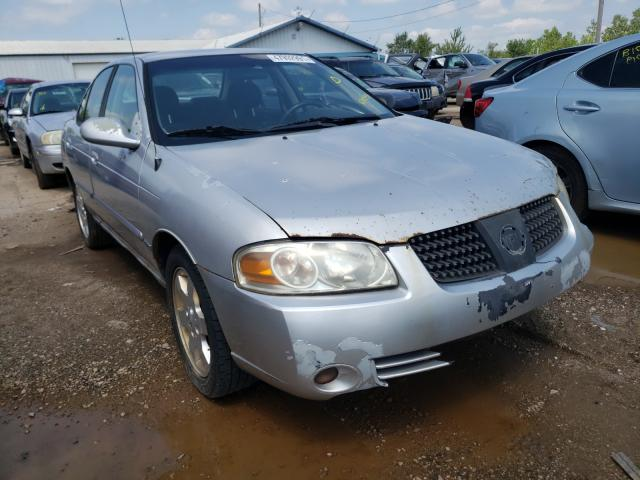 Salvage cars for sale from Copart Pekin, IL: 2006 Nissan Sentra 1.8