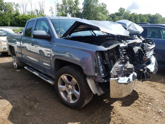 Salvage cars for sale from Copart Davison, MI: 2016 Chevrolet Silverado