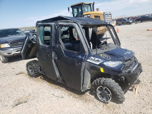 Salvage motorcycles for sale at Magna, UT auction: 2020 Polaris Ranger CRE