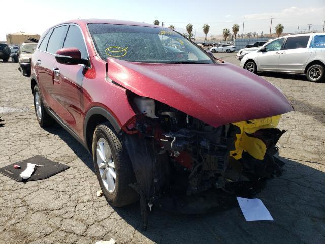 Salvage cars for sale from Copart Colton, CA: 2020 KIA Sorento L