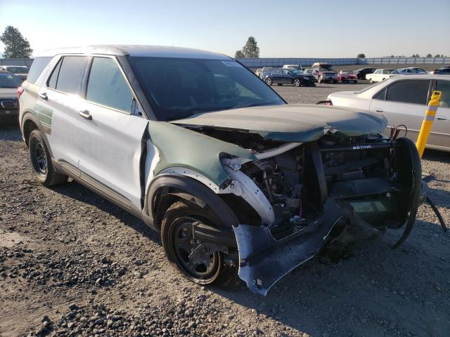 Salvage cars for sale from Copart Airway Heights, WA: 2020 Ford Explorer P