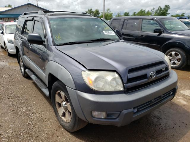 Salvage cars for sale from Copart Pekin, IL: 2003 Toyota 4runner SR