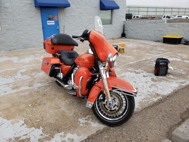 Salvage cars for sale from Copart Albuquerque, NM: 2012 Harley-Davidson Flhtk Elec