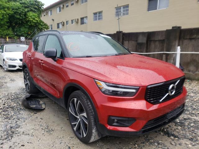 Salvage cars for sale at Opa Locka, FL auction: 2020 Volvo XC40 T4 R
