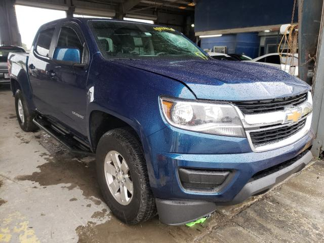 Salvage cars for sale from Copart Riverview, FL: 2019 Chevrolet Colorado