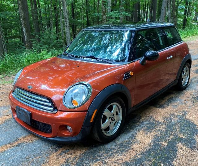 Salvage cars for sale from Copart Albany, NY: 2011 Mini Cooper