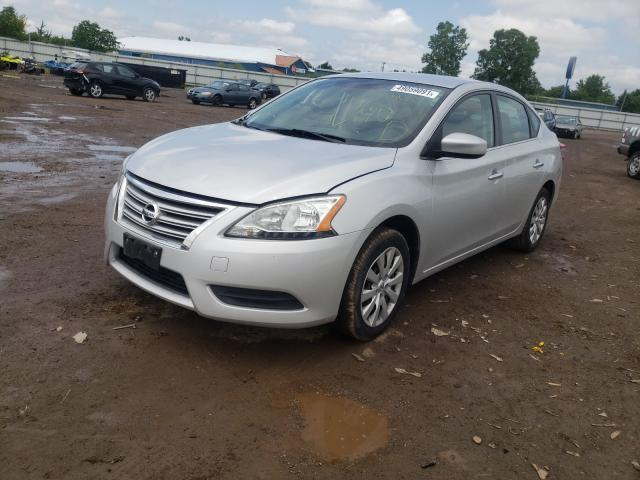 2014 NISSAN SENTRA S 3N1AB7APXEY201584
