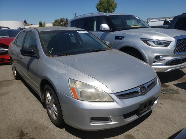 Vehiculos salvage en venta de Copart Martinez, CA: 2007 Honda Accord SE