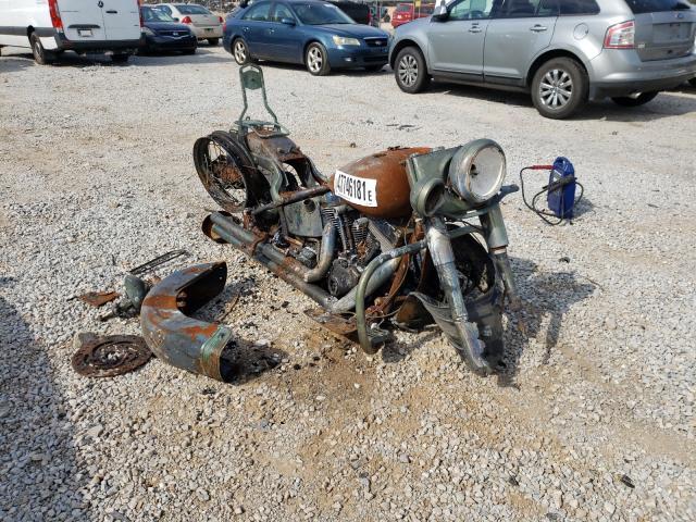 Salvage cars for sale from Copart Tanner, AL: 2005 Harley-Davidson Flstn