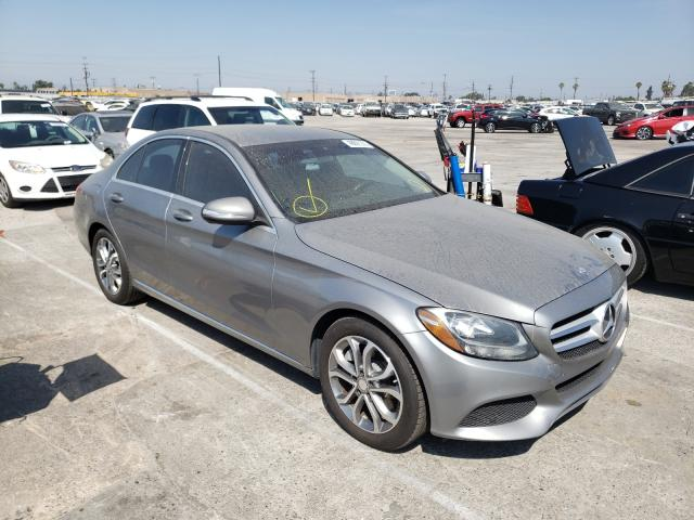 Salvage cars for sale from Copart Sun Valley, CA: 2015 Mercedes-Benz C300