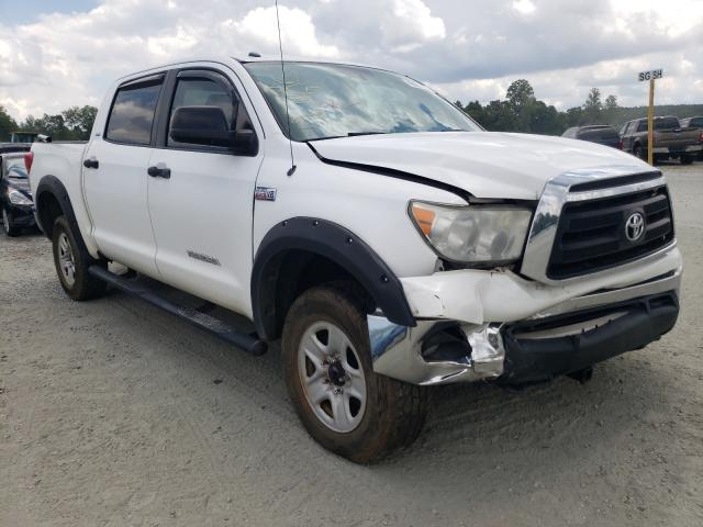 Salvage cars for sale from Copart Spartanburg, SC: 2011 Toyota Tundra CRE