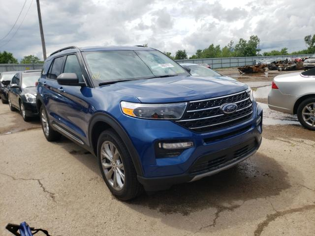 Salvage cars for sale from Copart Pekin, IL: 2021 Ford Explorer X