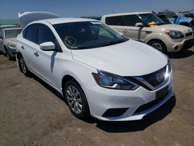Salvage cars for sale from Copart San Martin, CA: 2017 Nissan Sentra S