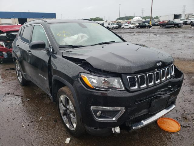 Salvage cars for sale from Copart Woodhaven, MI: 2020 Jeep Compass LI
