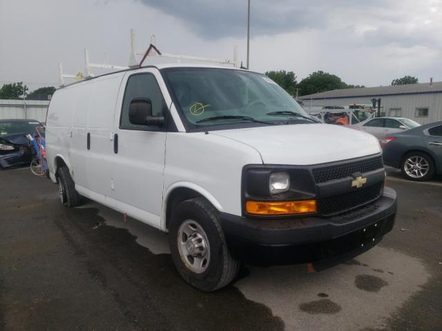 Salvage cars for sale from Copart Glassboro, NJ: 2015 Chevrolet Express G2
