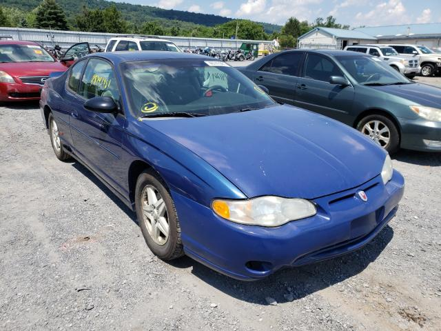 Salvage cars for sale from Copart Grantville, PA: 2004 Chevrolet Monte Carl