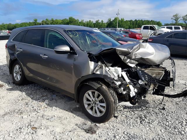 Salvage cars for sale from Copart Montgomery, AL: 2019 KIA Sorento L