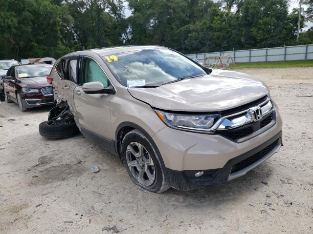 Salvage cars for sale from Copart Ocala, FL: 2019 Honda CR-V EXL