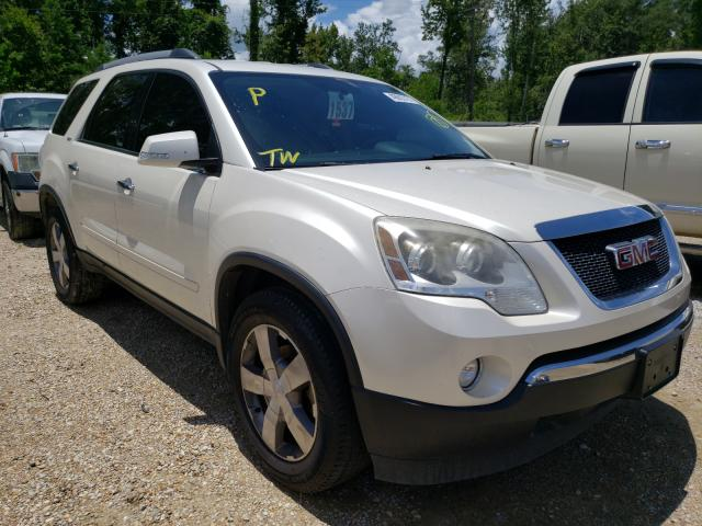 Salvage cars for sale from Copart Greenwell Springs, LA: 2012 GMC Acadia SLT