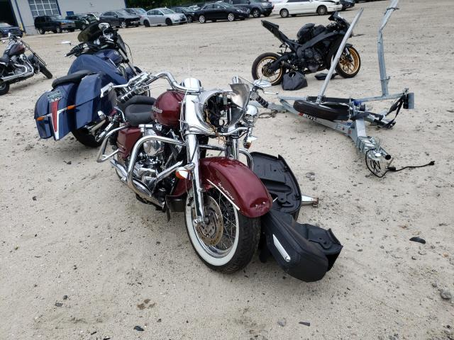 Salvage motorcycles for sale at Candia, NH auction: 2002 Harley-Davidson Flhrci