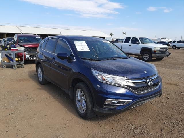 Salvage cars for sale from Copart Phoenix, AZ: 2016 Honda CR-V EX