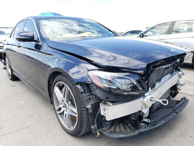 Salvage cars for sale at Grand Prairie, TX auction: 2019 Mercedes-Benz E 300