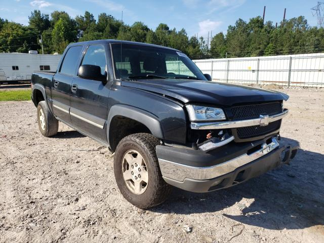 Salvage cars for sale at Charles City, VA auction: 2004 Chevrolet Silverado