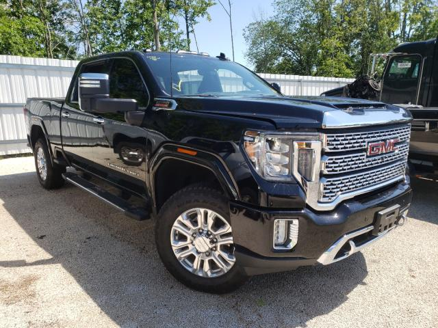 Salvage cars for sale from Copart Milwaukee, WI: 2020 GMC Sierra K25