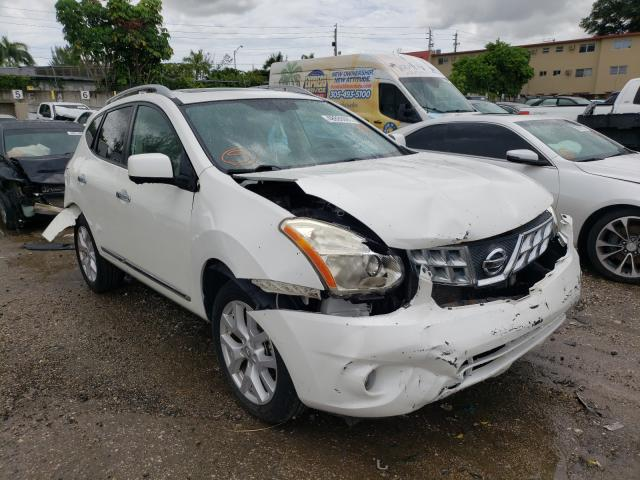 Salvage cars for sale from Copart Opa Locka, FL: 2012 Nissan Rogue S
