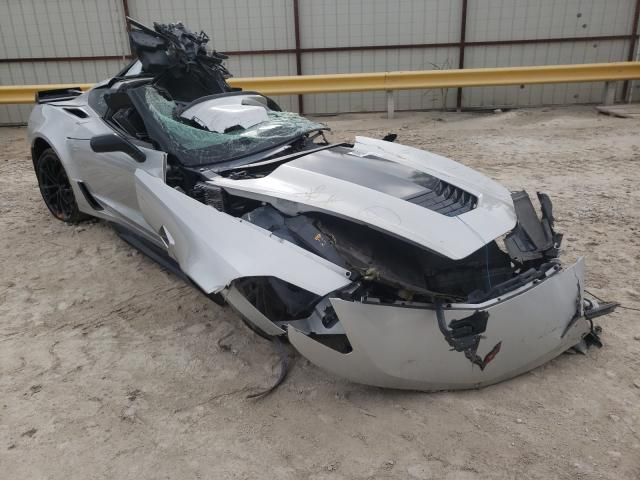 Salvage cars for sale from Copart Haslet, TX: 2019 Chevrolet Corvette G