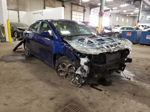 KIA Forte salvage cars for sale: 2019 KIA Forte